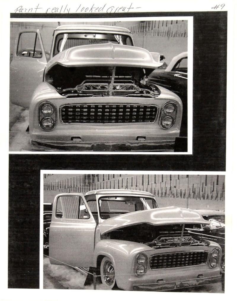 Ford Pick Up 1953 - 1956 custom & mild custom 1954-r33