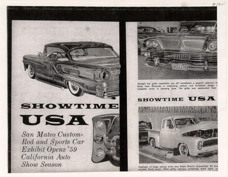 Ford Pick Up 1953 - 1956 custom & mild custom 1954-r34