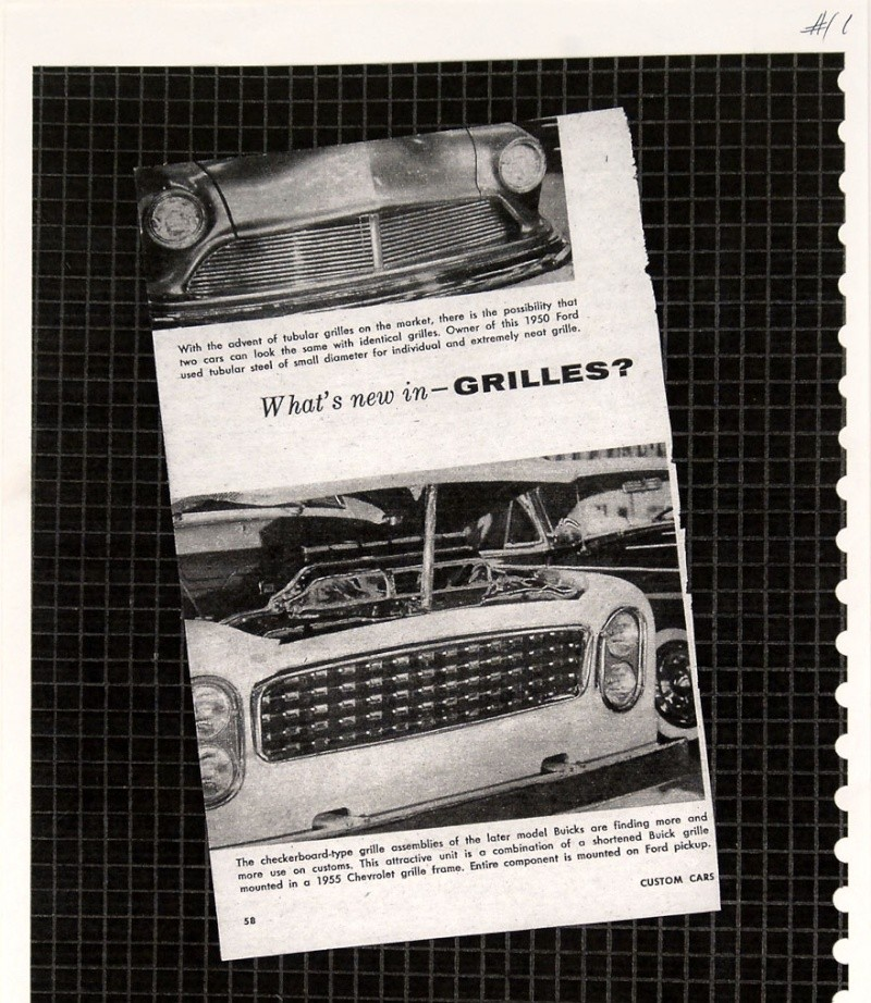 Ford Pick Up 1953 - 1956 custom & mild custom 1954-r35