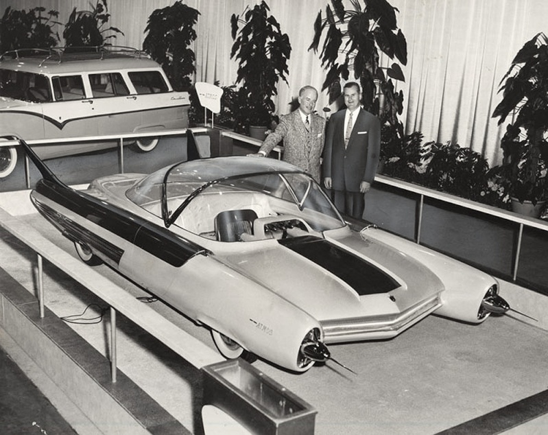 Ford FX Atmos 1954 concept car 1954_f16