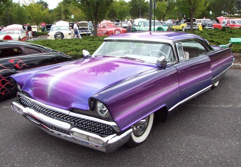 Lincoln 1956 - 1957 custom & mild custom 1956-f10