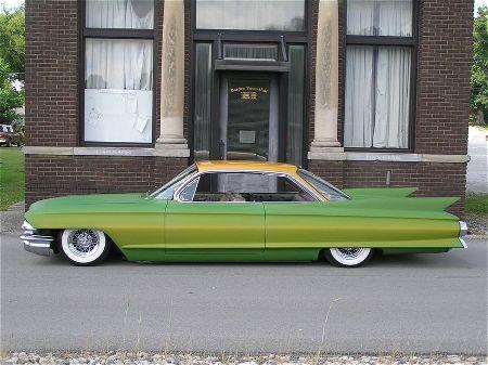 Cadillac 1961 - 1968 Custom & mild custom 1961-c11
