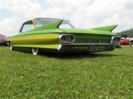 Cadillac 1961 - 1968 Custom & mild custom 1961-c14