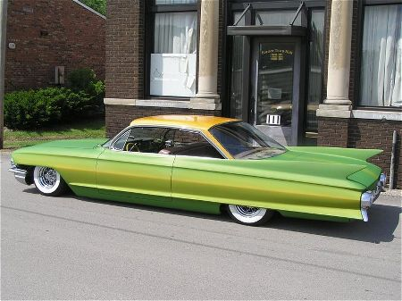 Cadillac 1961 - 1968 Custom & mild custom 1961-c18
