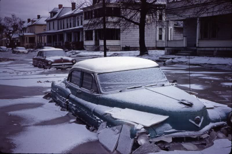 voitures et neige, cars and snow 20111217
