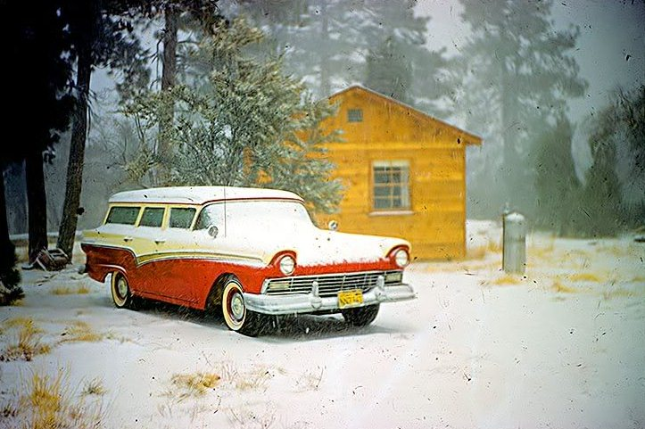 voitures et neige, cars and snow 20111229