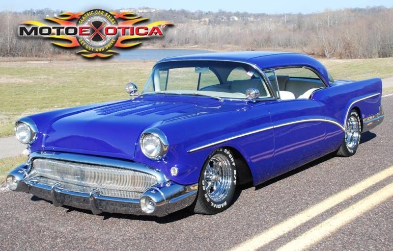 Buick 1955 - 57 custom & mild custom 218