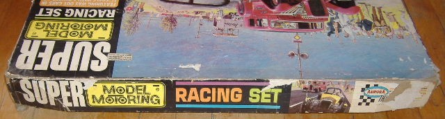 1963 slot car hot rod racing set Aurora 26835212