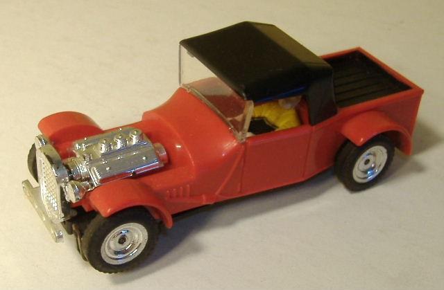 1963 slot car hot rod racing set Aurora 26835216