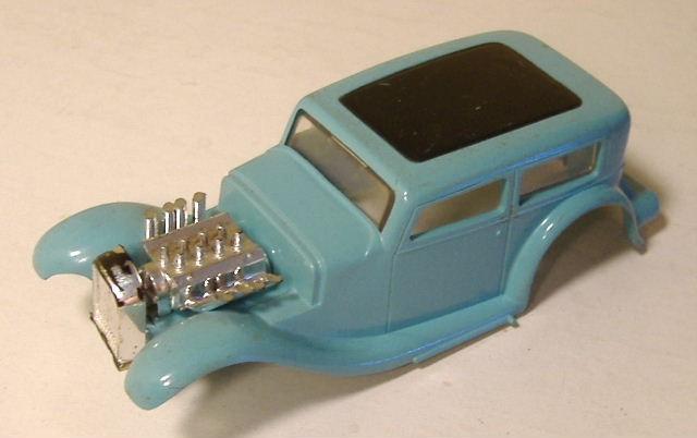 1963 slot car hot rod racing set Aurora 26835221