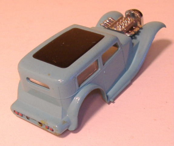 1963 slot car hot rod racing set Aurora 26835222