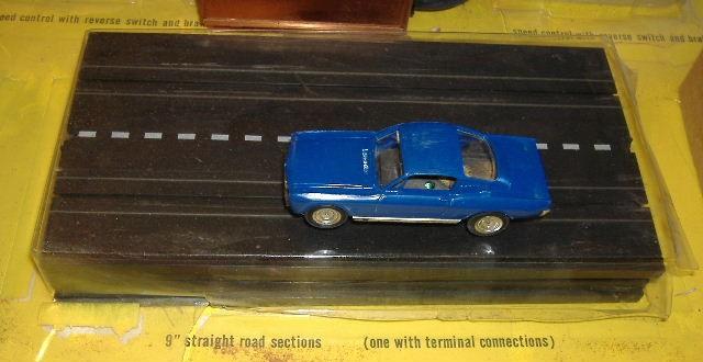 1963 slot car hot rod racing set Aurora 26835229