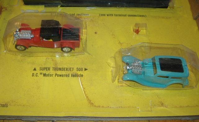 1963 slot car hot rod racing set Aurora 26835230