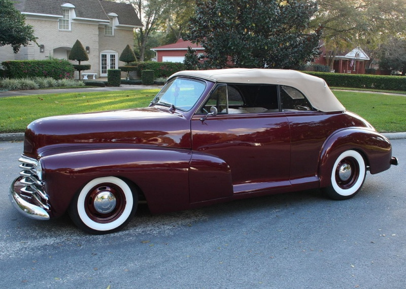 Chevrolet 1946 - 48 custom & mild custom 47chev10