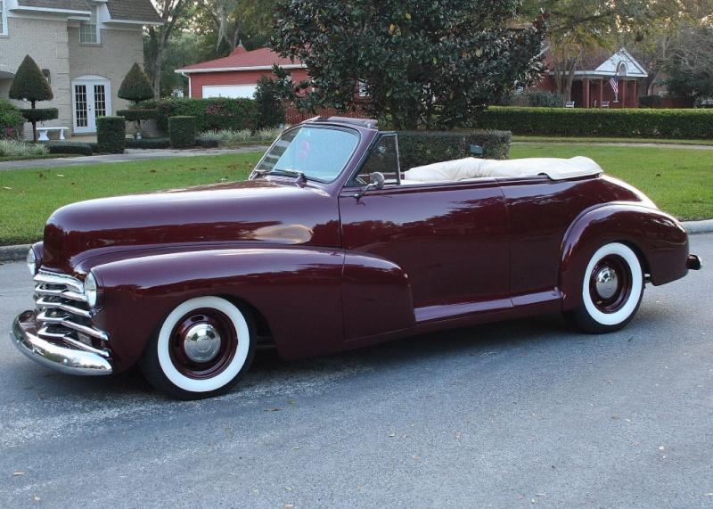 Chevrolet 1946 - 48 custom & mild custom 47chev13