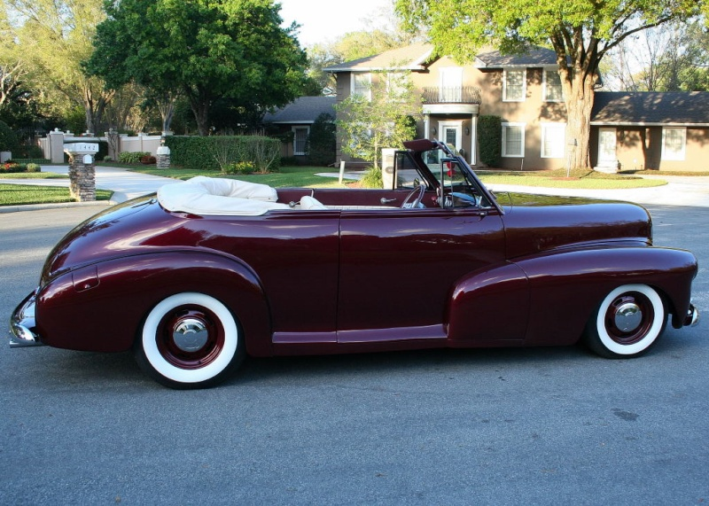 Chevrolet 1946 - 48 custom & mild custom 47chev17