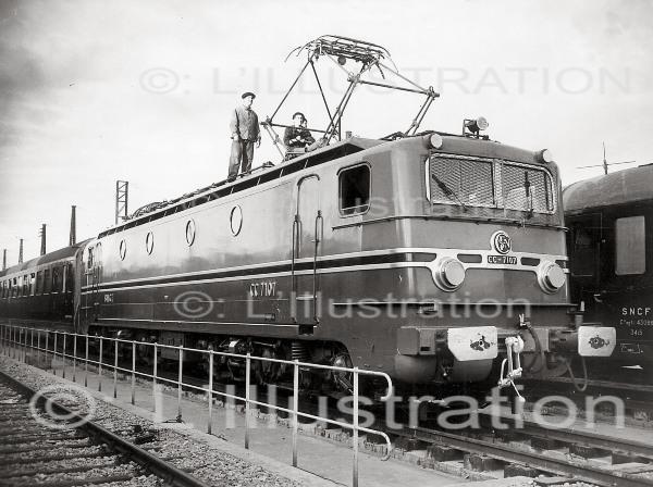 Locomotives et trains vintages 51928510