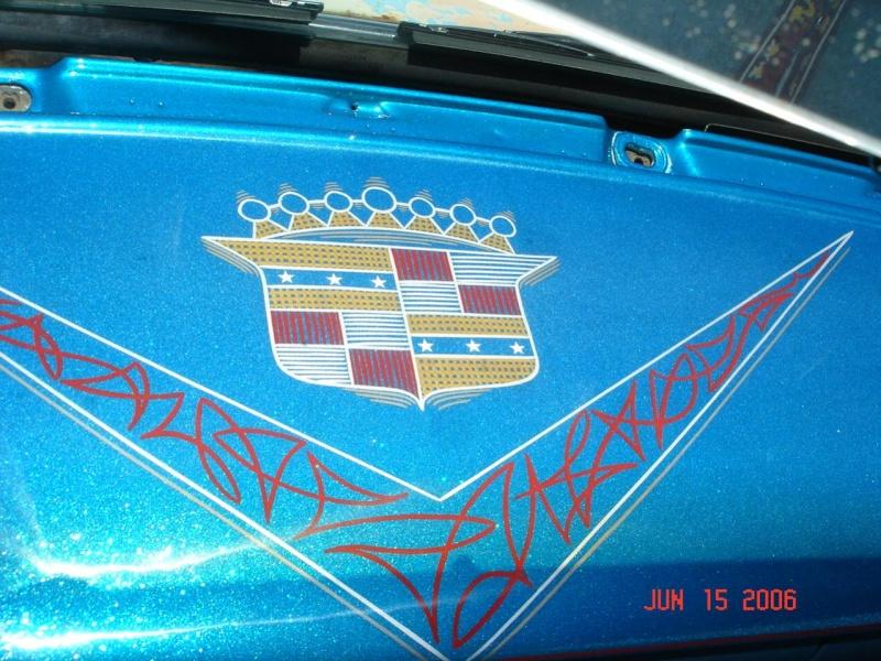 Cadillac 1954 -  1956 custom & mild custom 6-15-011