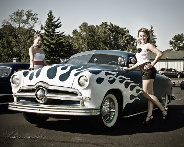 Ford 1949 - 50 - 51 (shoebox) custom & mild custom galerie - Page 3 61187510