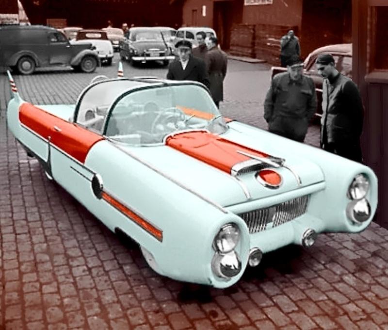 Dream car 1955 de Almar Nordhaug 76553810