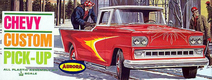 Aurora Hot Rod 1/32 - 1/25 model kit 86938110