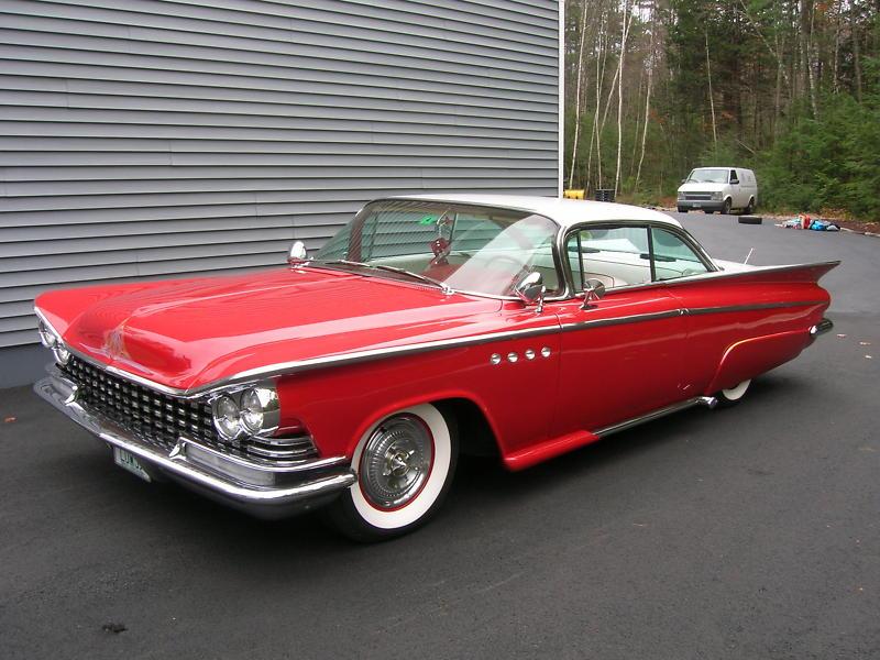 Buick 1959 - 1960 custom & mild custom B9e6te10