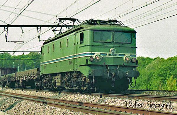 Locomotives et trains vintages Cc-71110