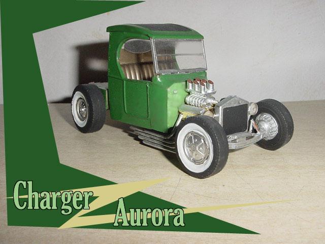 Aurora Hot Rod 1/32 - 1/25 model kit Charge10