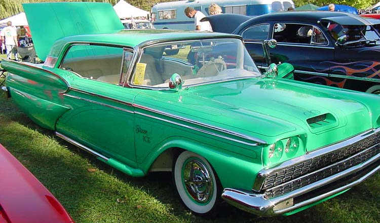 Ford 1959 custom & mild custom Dean0210