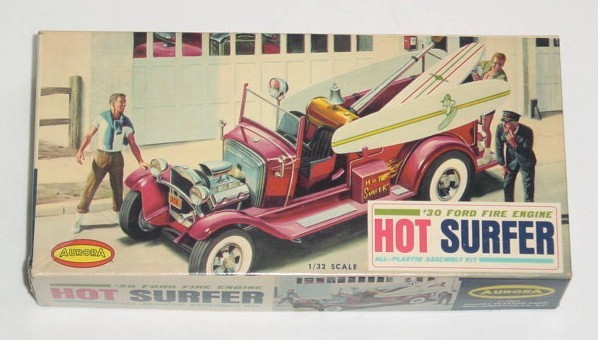 Aurora Hot Rod 1/32 - 1/25 model kit Dsc09110