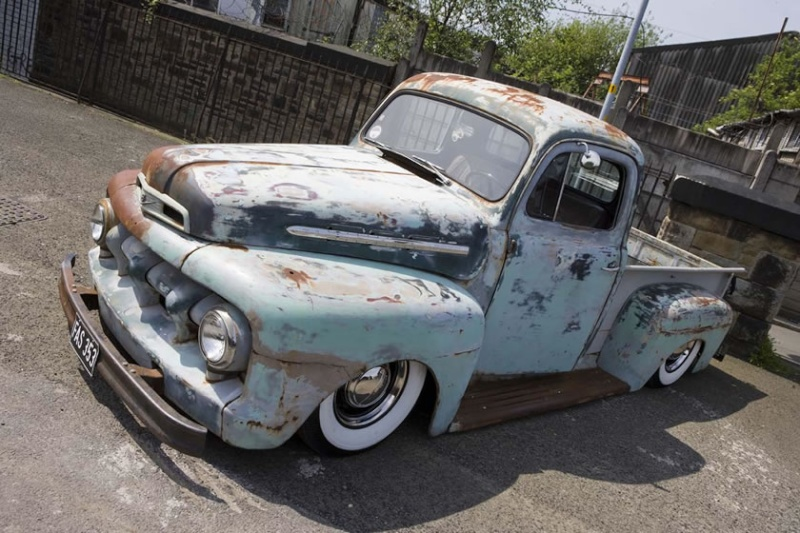 Patine, peinture et rouille - Barn find & Patina - Page 2 Ford-t10
