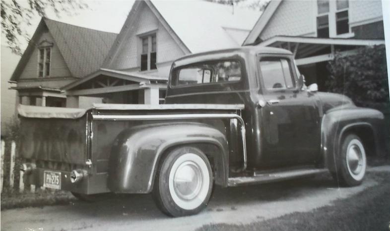 Ford Pick Up 1953 - 1956 custom & mild custom Kgrhqe11