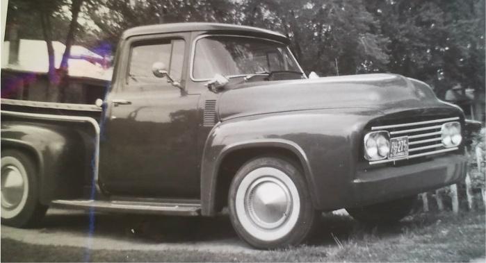 Ford Pick Up 1953 - 1956 custom & mild custom Kgrhqe12