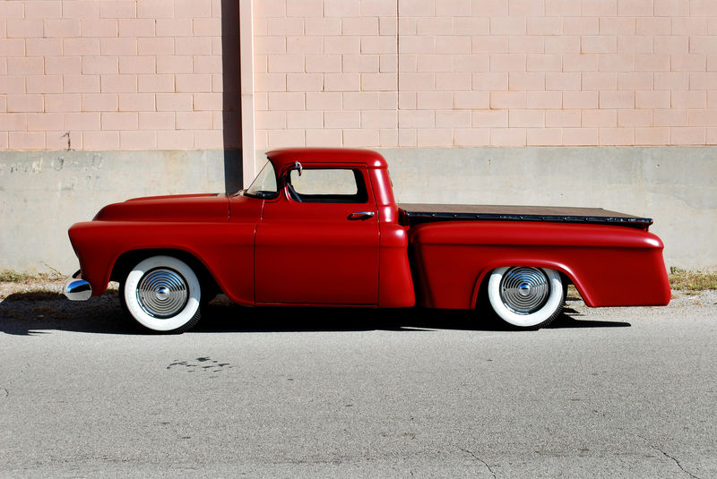 Chevy pick up  1955 - 1959 custom & mild custom Kgrhqe26