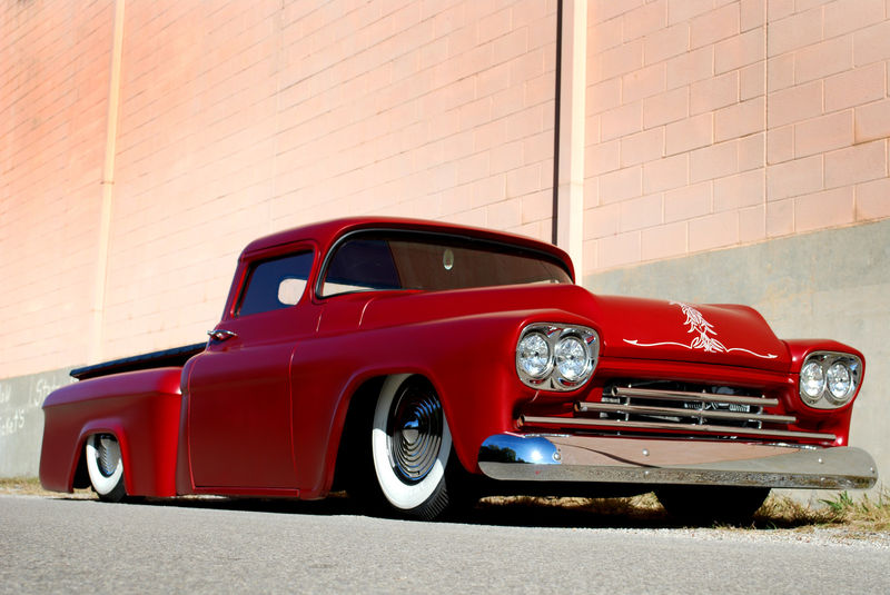 Chevy pick up  1955 - 1959 custom & mild custom Kgrhqi28