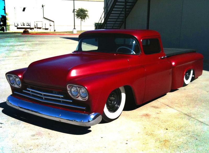 Chevy pick up  1955 - 1959 custom & mild custom Kgrhqi29