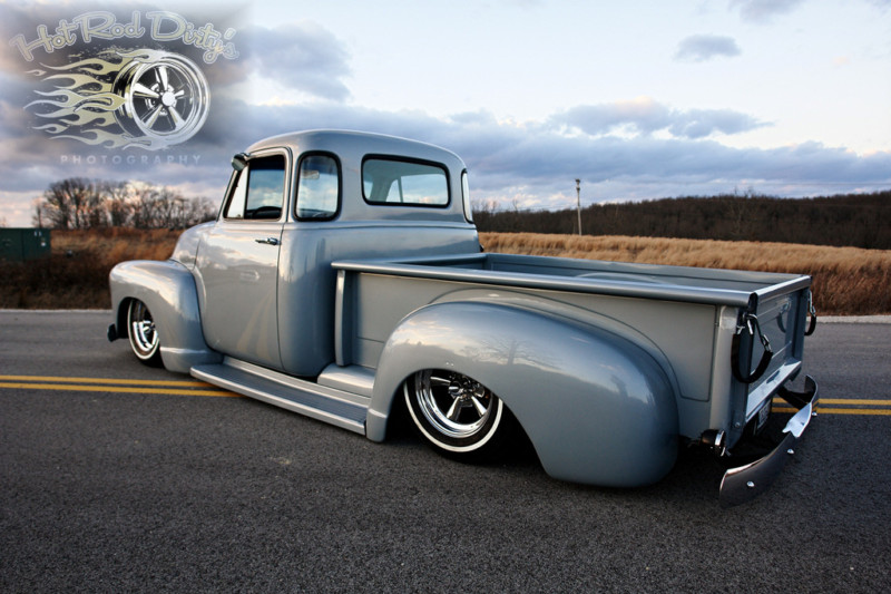 Chevy Pick up 1947 - 1954 custom & mild custom Kgrhqn28
