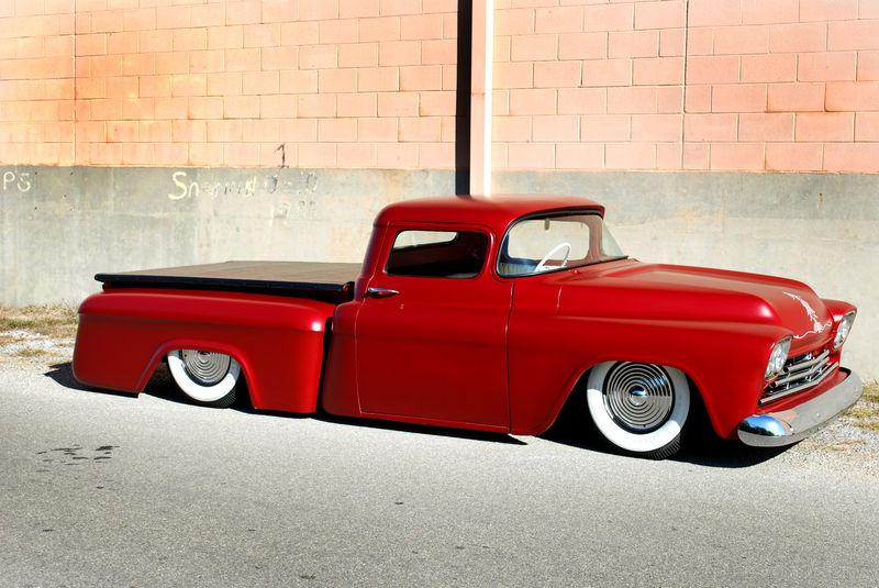 Chevy pick up  1955 - 1959 custom & mild custom Kgrhqq22
