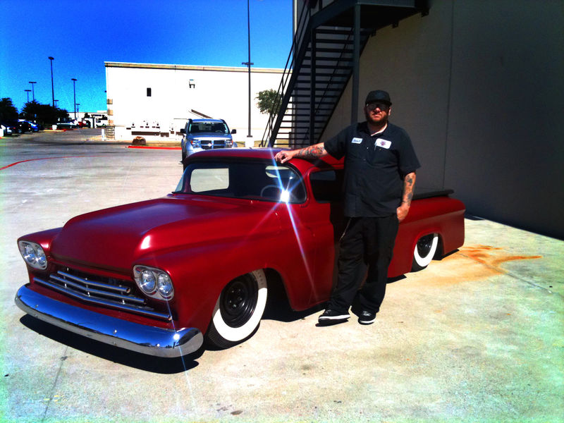 Chevy pick up  1955 - 1959 custom & mild custom Kgrhqu21