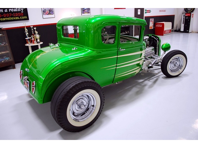1930 Ford Model A 5 window - Smokehouse Rods & Cycles - Kryptonite Kgrhqz47