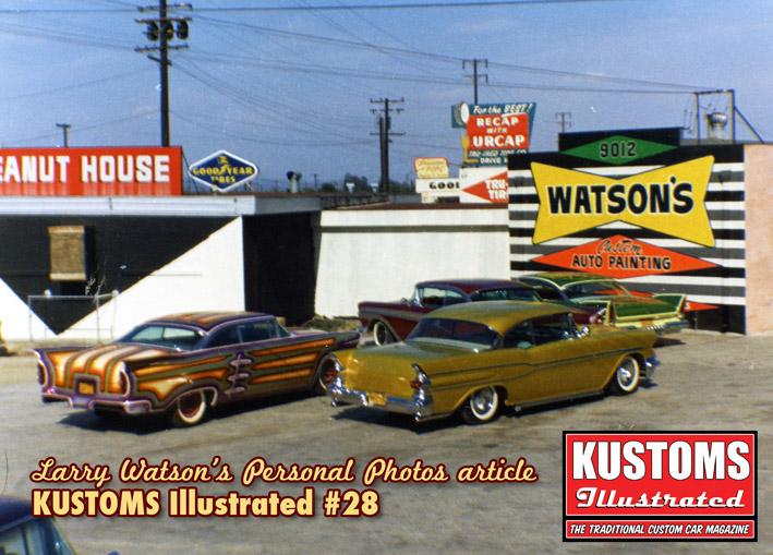 Photos d'époques de Larry Watson Kustom10