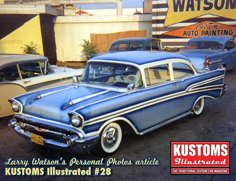 Photos d'époques de Larry Watson Kustom11