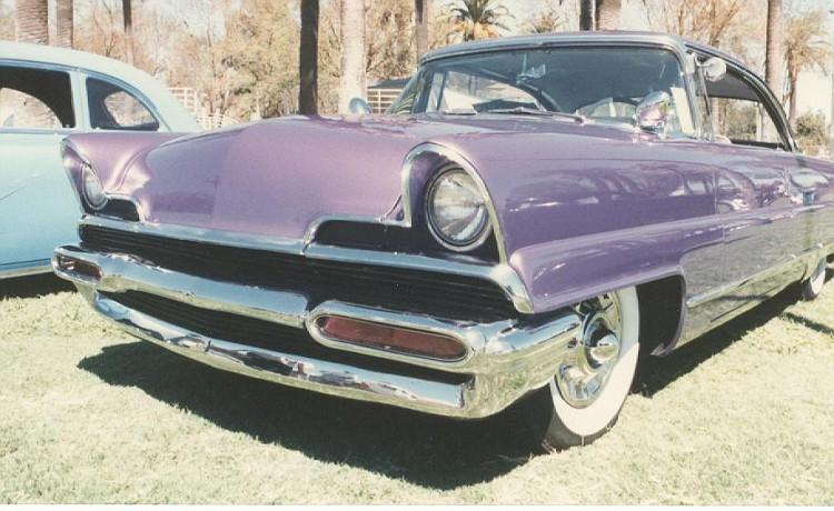 Lincoln 1956 - 1957 custom & mild custom Kustom12