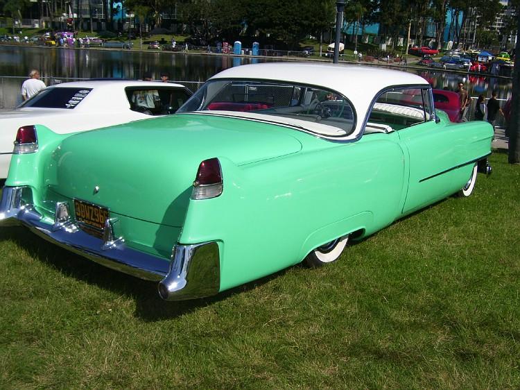 Cadillac 1954 -  1956 custom & mild custom Longbe15