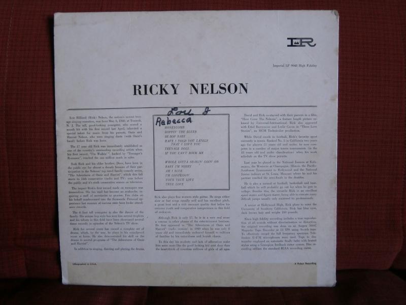 Les albums 33 tours classiques du rock des 1950's et 1960's - Classic Lp's of 1950's and 1960's rock P2190013