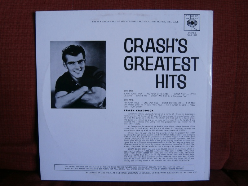 Les albums 33 tours classiques du rock des 1950's et 1960's - Classic Lp's of 1950's and 1960's rock - Page 3 P2190065