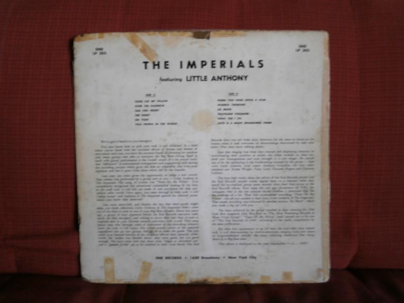 Les albums 33 tours classiques du rock des 1950's et 1960's - Classic Lp's of 1950's and 1960's rock - Page 2 P2210015