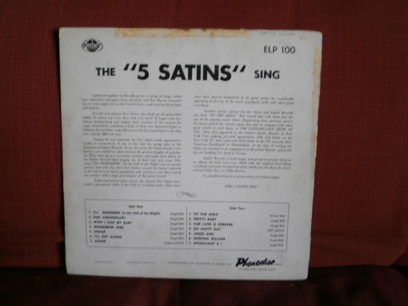 Les albums 33 tours classiques du rock des 1950's et 1960's - Classic Lp's of 1950's and 1960's rock - Page 2 P2210031