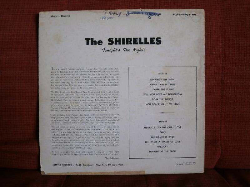 Les albums 33 tours classiques du rock des 1950's et 1960's - Classic Lp's of 1950's and 1960's rock - Page 2 P2210033