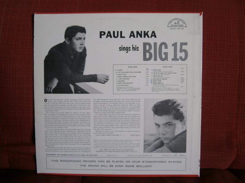 Les albums 33 tours classiques du rock des 1950's et 1960's - Classic Lp's of 1950's and 1960's rock - Page 2 P2210041